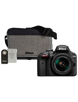 Nikon D3400 Dslr Camera With 18 55mm Lens Kit & Accessory Kit by Nikon