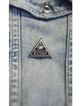 Oracle Enamel Pin Badge by Disturbia