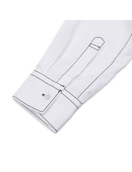 Poplin Plain Shirt White by Comme Des Garçons Shirt
