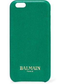 Printed Leather I Phone 6 Case by Balmain