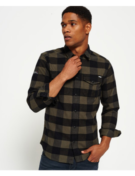 Rookie Plaid Shirt by Superdry