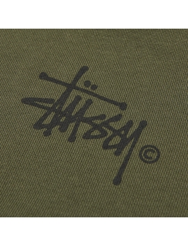 Two Tone Hood Olive by Stussy