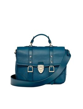 The Small City Mollie Satchel by Aspinal Of London