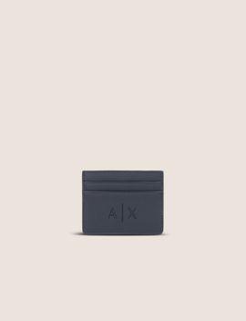 Textured Logo Cardcase by Armani Exchange