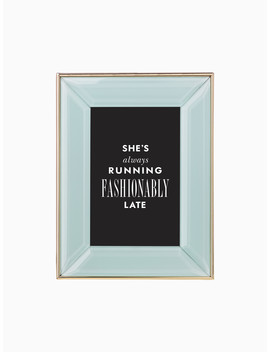 Charles Lane Mint 4x6 Frame by Kate Spade