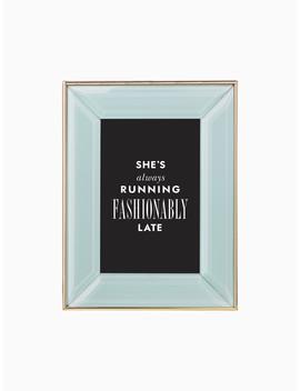Charles Lane Mint 4x6 Frame by Kate Spade