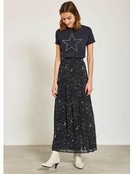 Shae Print Maxi Skirt by Mint Velvet