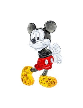 Mickey Mouse by Swarovski Crystal