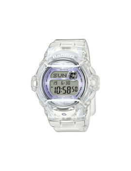 Casio Baby G Womens Wrist Watch Bg169 R 7 E Bg 169 R 7 E Transparent Purple Accent by Casio