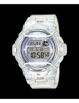 Bg 169 R 7 E New Model Digital Casio Baby G Watches Lady Resin Band Full Packy by Baby G