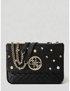 Gioia Crossbody Bag With Pearls by Guess
