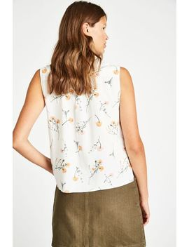 Linden Printed Sleeveless Shirt by Jack Wills