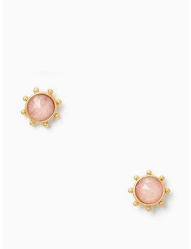 Perfectly Imperfect Round Studs by Kate Spade