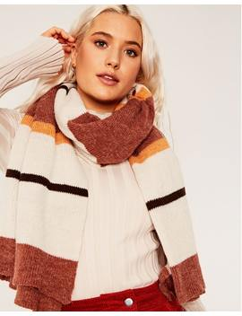 Block Stripe Scarf by Glassons
