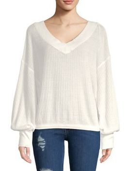 South Side Thermal Pullover by Free People