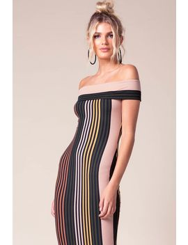 Sammi Off Shoulder Bodycon Dress by A'gaci