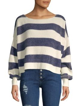 Just My Stripe Pullover by Free People