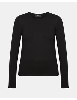 Wool Slim Fit Crewneck Sweater by Theory