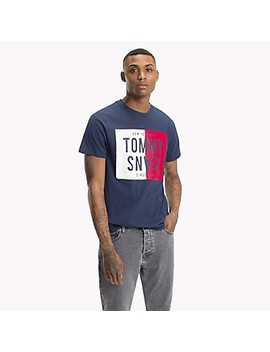 Reverse Logo T Shirt by Tommy Hilfiger