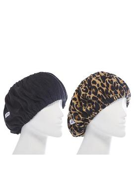 Tassi Hair Holder Duo   Black/Leopard by Tassi