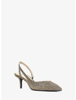 Eliza Flex Chain Mesh Pump by Michael Michael Kors