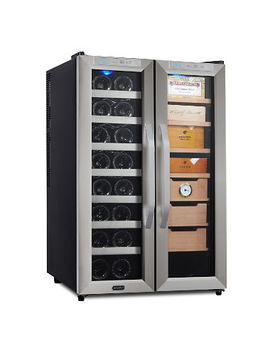 Whynter Freestanding 3.6 Cu. Ft. Wine Cooler And Cigar Humidor Center by Whynter