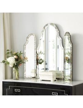 Miles Redd Tri Fold Vanity Mirror by Ballard Designs
