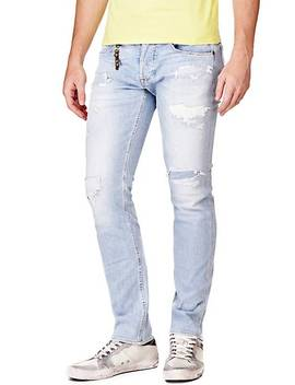 Slim Jeans With Tears by Guess