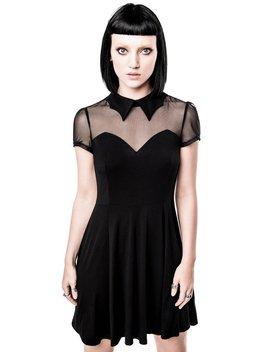 Vampyra Night Creature Skater Dress [B] by Killstar