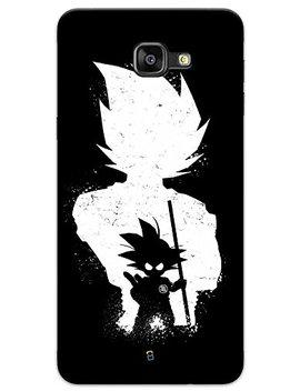 My Phone Mate Dragon Ball Z Goku Super Saiyan White Transformation Designer Printed Hard Matte Mobile Case Back Cover For Samsung Galaxy J5 Prime by My Phone Mate