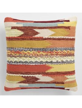 Desert Woven Indoor Outdoor Throw Pillow by World Market