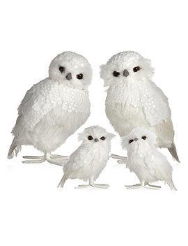 Snowy Owl   Set Of 2 by Z Gallerie