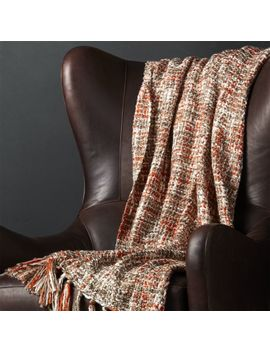Lena Tweed Throw by Crate&Barrel