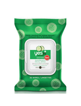 Yes To Cucumbers Hypoallergenic Facial Wipes (Pack Of 30) by The Hut