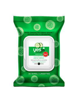 Yes To Cucumber 30 Cleansing Facial Wipes by Yes To Cucumber 30 Cleansing Facial Wipes