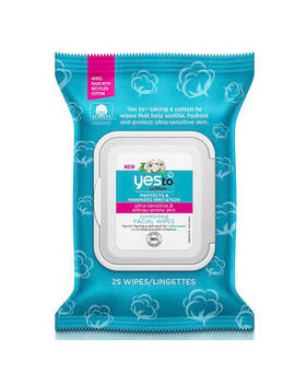 Yes To Cotton Comforting Facial Wipes (25 Pack) by The Hut