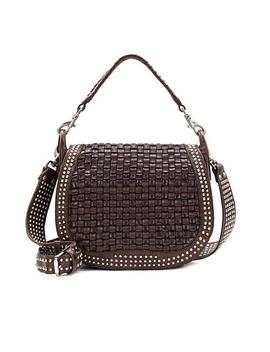 Patricia Nash Discovery Acerra Leather Crossbody by Patricia Nash