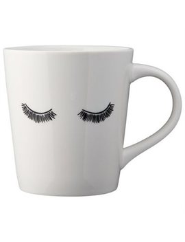 Eyelashes Mug by Indigo