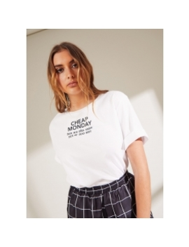 Perfect Tee   White by Peppermayo