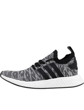 Adidas Originals Nmd R2 Primeknit Trainers Grey/Core Black/Footwear White by Mand M Direct