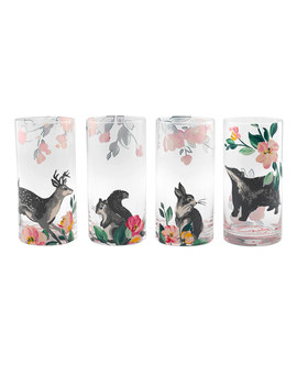Set Of Four Animal Tumblers by Cath Kidston