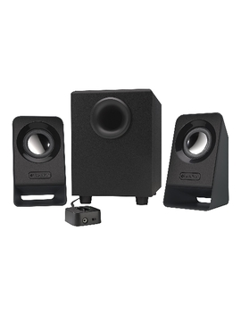 Logitech Multimedia Speakers Z213 (2.1 Stereo Speakers With Subwoofer) (Refurbished) by Logitech