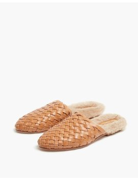 The Odells™ Shearling Lined Leather Mule by Madewell