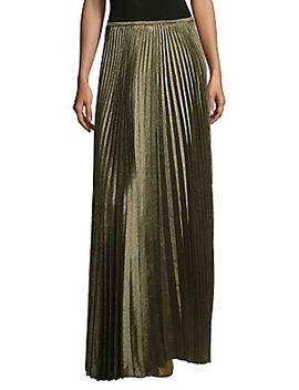Orla Belted Suede Skirt by Lafayette 148 New York