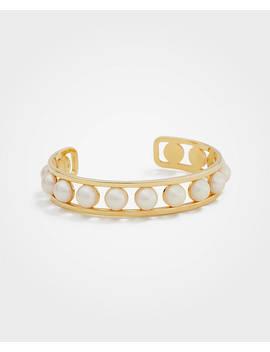 Pearlized Cuff Bracelet by Ann Taylor
