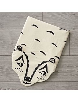 Roxy Marj Bear Blanket by Crate&Barrel