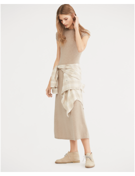 Cashmere Fit And Flare Dress by Ralph Lauren