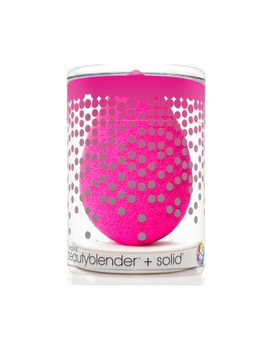 Beautyblender Original Pink Sponge + Mini Solid Cleanser Kit by Well