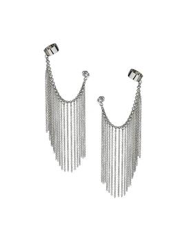 Silver Chain Ear Cuff by Miss Selfridge