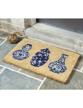 Ginger Jar Coir Mat by Ballard Designs